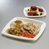 Earth Wise Tree Free 500 ct Square Dinner Plate sold in 4 pkgs of 125