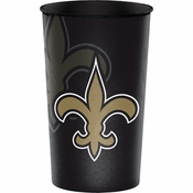 New Orleans Saints 22 oz Plastic Stadium Cups