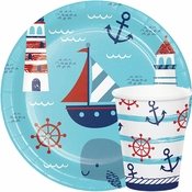 Nautical Baby Shower Supplies