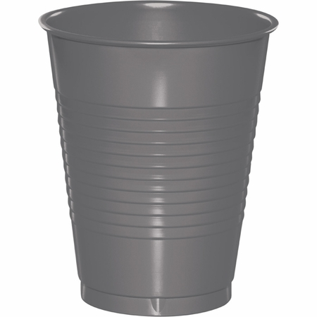 Glamour Gray 16 oz Plastic Cups 240 ct