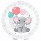 Enchanting Elephants Girl Centerpieces 6 ct