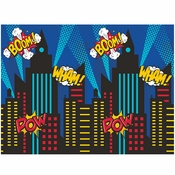 Superhero Party Photobooth Backdrops 6 ct