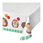 Hedgehog Party Paper Tablecloths 6 ct