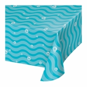 Ocean Paper Tablecloths 6 ct