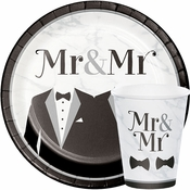 Mr. and Mr. Wedding Party Supplies