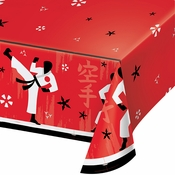 Karate Party Paper Tablecloths 6 ct