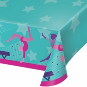 Gymnastics Party Paper Tablecloths 6 ct