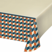 Hipster Birthday Paper Tablecloths 6 ct