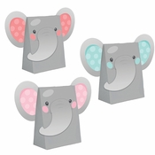 Enchanting Elephants Girl Paper Treat Bags 96 ct