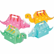 Girl Dinosaur Treat Boxes 24 ct