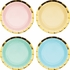 Pastel Celebrations Assorted Dessert Plates 96 ct