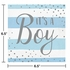 Blue and Silver Celebration Its a Boy Luncheon Napkins 192 ct