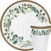 Eucalyptus Bridal Shower Supplies