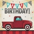 Vintage Red Truck Happy Birthday Luncheon Napkins 192 ct