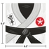 Karate Party Luncheon Napkins 192 ct