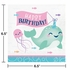 Narwhal Party Happy Birthday Luncheon Napkins 192 ct