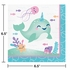 Narwhal Party Luncheon Napkins 192 ct