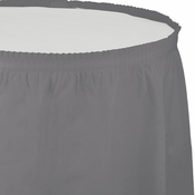 Glamour Gray Tableskirts 6 ct