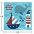 Nautical Baby Shower Luncheon Napkins 192 ct
