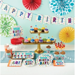 Birthday Burst 90th Birthday Party Supplies
