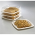 Earth Wise Tree Free 250 ct Clear Lid for Square Dinner Plate sold in 5 pkgs of 50