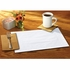 "White Classic 10"" x 14"" Placemat in quantities of 1,000 / case"
