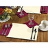 """Ecru 9.5"""" x 13.5"""" Economy Paper Placemat, flat packed in quantities of 1000 / case"""
