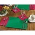 "Jade 9.5"" x 13.5"" Economy Placemat, 100 % recycled paper, flat packed in quantities of 1000 / case"