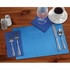 "Marina 9.5"" x 13.5"" Economy Paper Placemat, flat packed in quantities of 1000 / case"