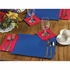 "Navy 9.5"" x 13.5"" Economy Paper Placemat, flat packed in quantities of 1000 / case"