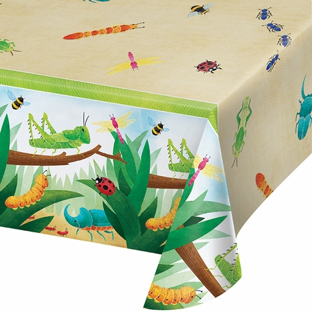 Birthday Bugs Paper Tablecloths 6 ct