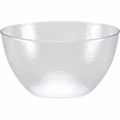 Clear Pebble 30 oz Plastic Bowls 12 ct