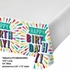 Birthday Burst Paper Tablecloths 6 ct