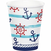 Nautical Baby Shower Cups 96 ct