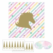 Sparkle Unicorn Games 6 ct