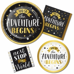 Adventure Begins Party Supplies