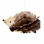 Hedgehog Party Hanging Tissue Balls 12 ct