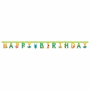 Birthday Bugs Banner 12 ct