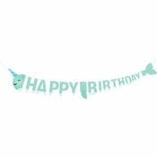 Narwhal Party Banners 12 ct
