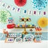 Birthday Burst 70 Dessert Plates 96 ct