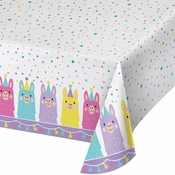 Llama Party Plastic Tablecloths 6 ct