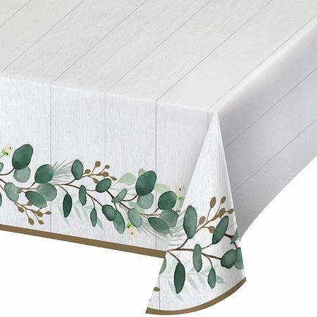 Eucalyptus Paper Tablecloths 6 ct