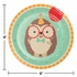 Hedgehog Party Dinner Plates 96 ct