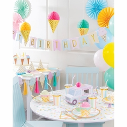Ice Cream Party Party Supplies