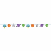 Space Party Banners 12 ct