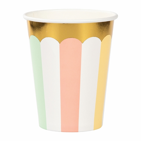 Pastel Celebrations Cups 96 ct
