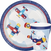 Toy Airplanes Baby Shower Supplies