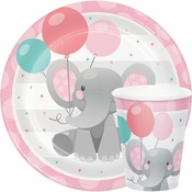 Enchanting Elephants Girl Party Supplies