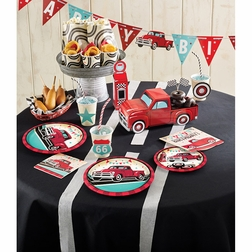Vintage Red Truck Party Supplies
