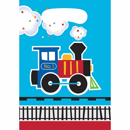 All Aboard Train Favor Bags 96 ct